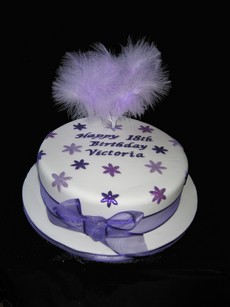 purple 18th birthday